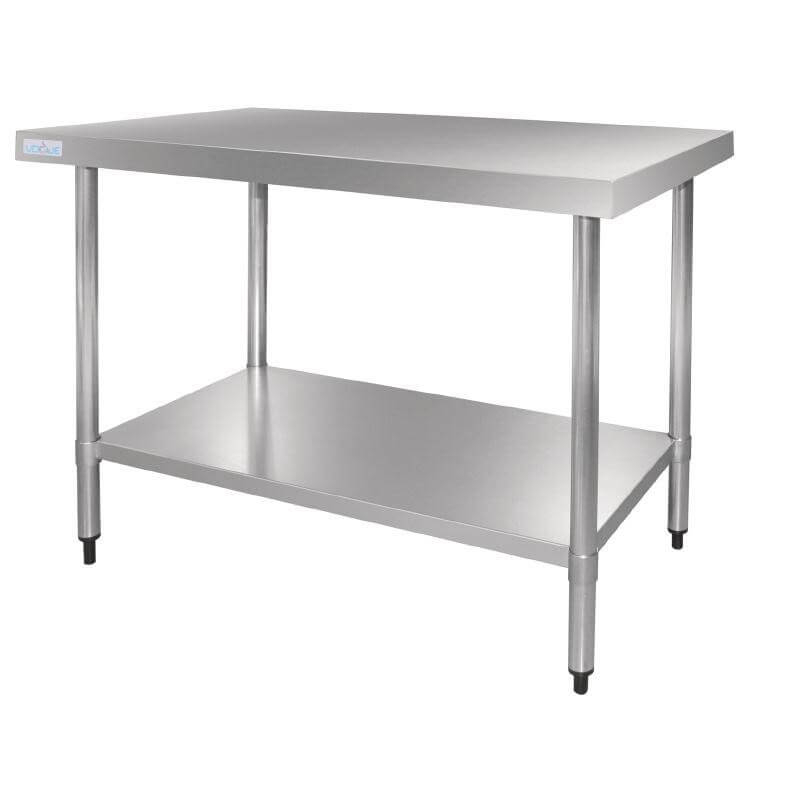 Table en acier inox Vogue 1500mm