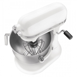 KitchenAid professionele mixer 6,9L wit 500W