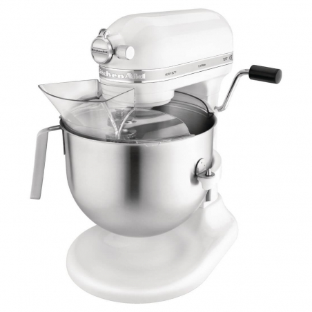 Mixeur professionnel KitchenAid blanc