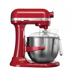 KitchenAid professionele mixer 6,9L rood 500W