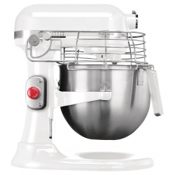 KitchenAid professionele mixer 6,9L wit 325W