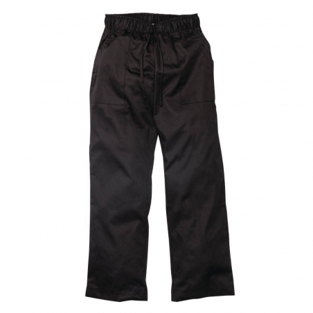 Pantalon de cuisinier femme Chef Works Executive noir S