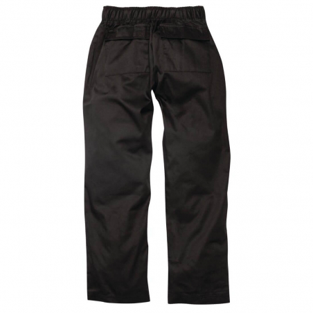 Pantalon de cuisinier femme Chef Works Executive noir L