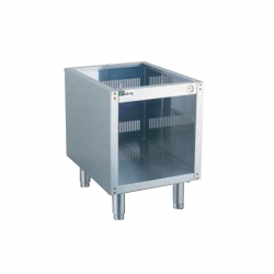 Support ouvert avec pieds - Top 650 400mm