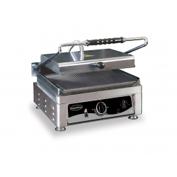 Contact grill voor panini