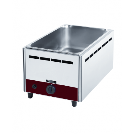 Bain marie à gaz de table GN 1/1 Diamond BMG-1/1