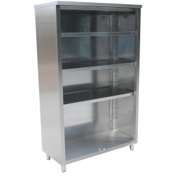 RVS open kast 600 mm (P)