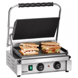 """Contact grill """"Panini-T"""" 1GR - Bartscher"""