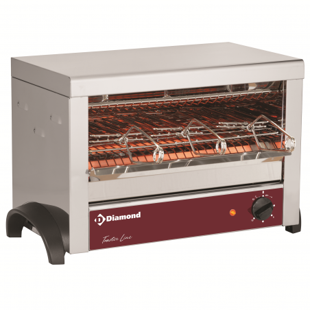 Toaster au quartz - 3 ou 6 pinces - M3-TOSTI/N - Diamond