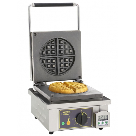 Gaufrier simple Rond Roller Grill - GES 75