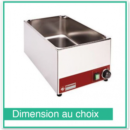 Bain marie de table électrique - GN 1/1- BM1/X - Diamond