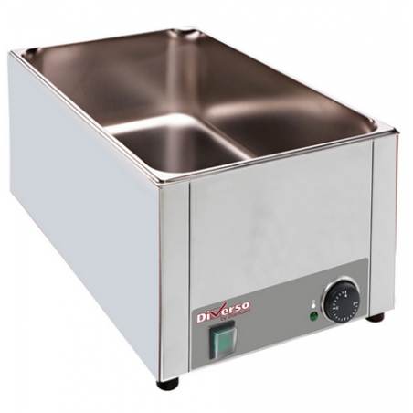 Bain-marie de table électrique GN1/1 (P150mm) - Diamond
