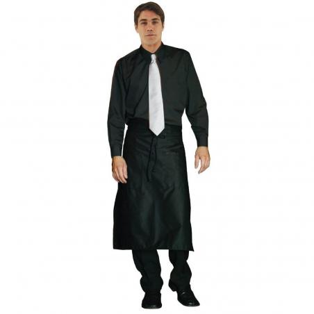 Chemise habillée unisexe Uniform Works noire S