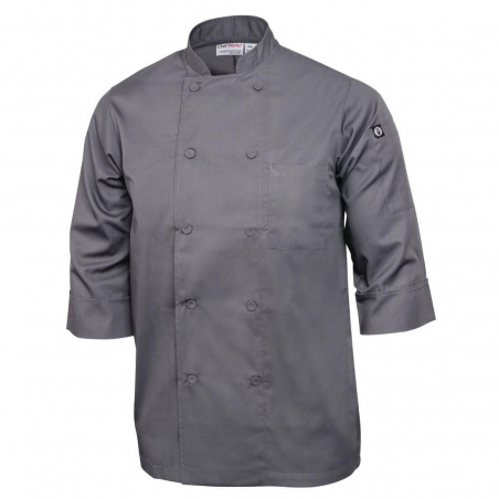 Veste chef unisexe Colour by Chef Works grise XS