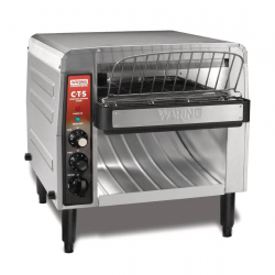 Toaster à convoyeur double alimentation Waring