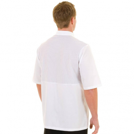 Veste chef Cool Vent unisexe Chef Works Montreal blanche M
